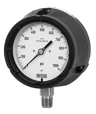 WIKA Bourdon Tube Pressure Gauges Model 232.34 / 233.34