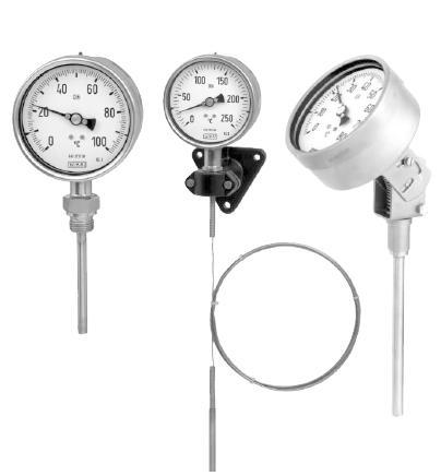 Gas Actuated Thermometer Model 73